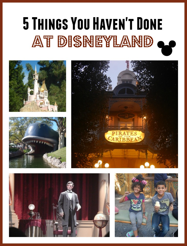 5 Things You Haven't Done at Disneyland – all FREE (after park admission, of course)!