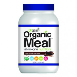 Orgain Organic Meal All-in-One Nutrition, Creamy Chocolate Fudge, 2.01 Pound