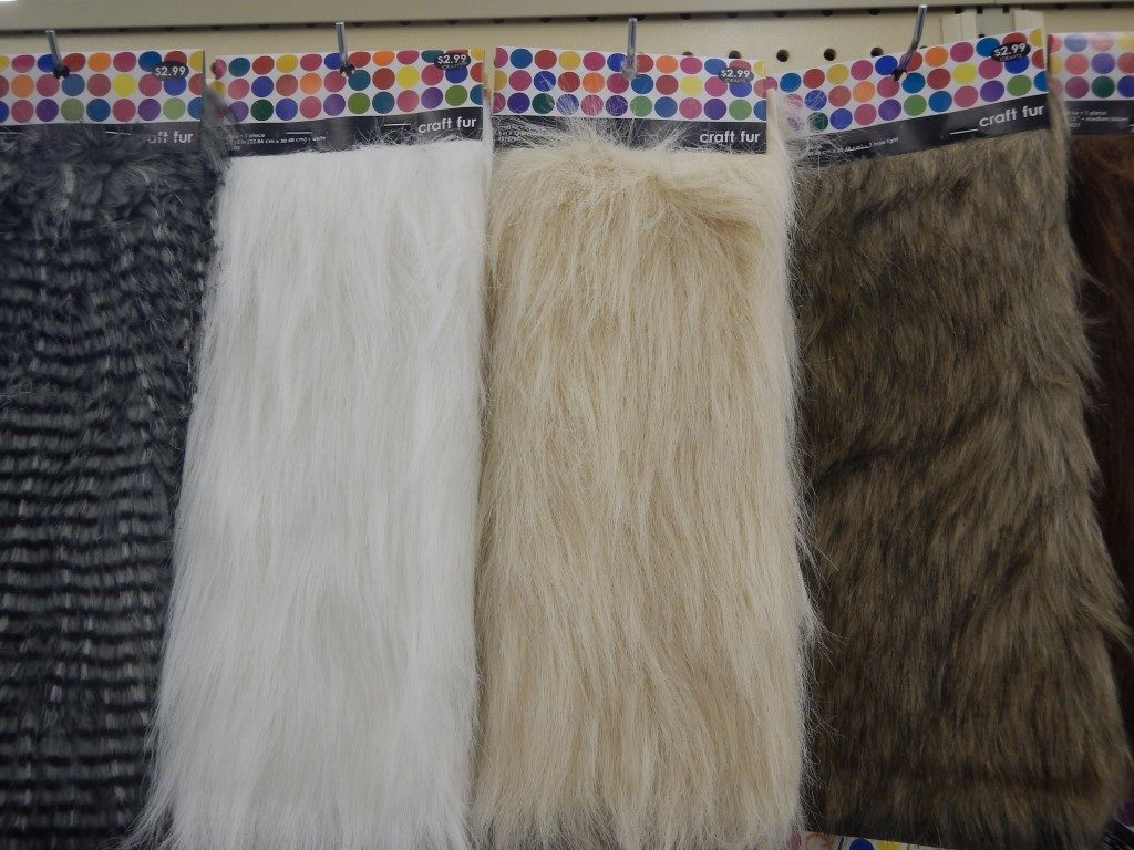 Craft Fur at Hobby Lobby