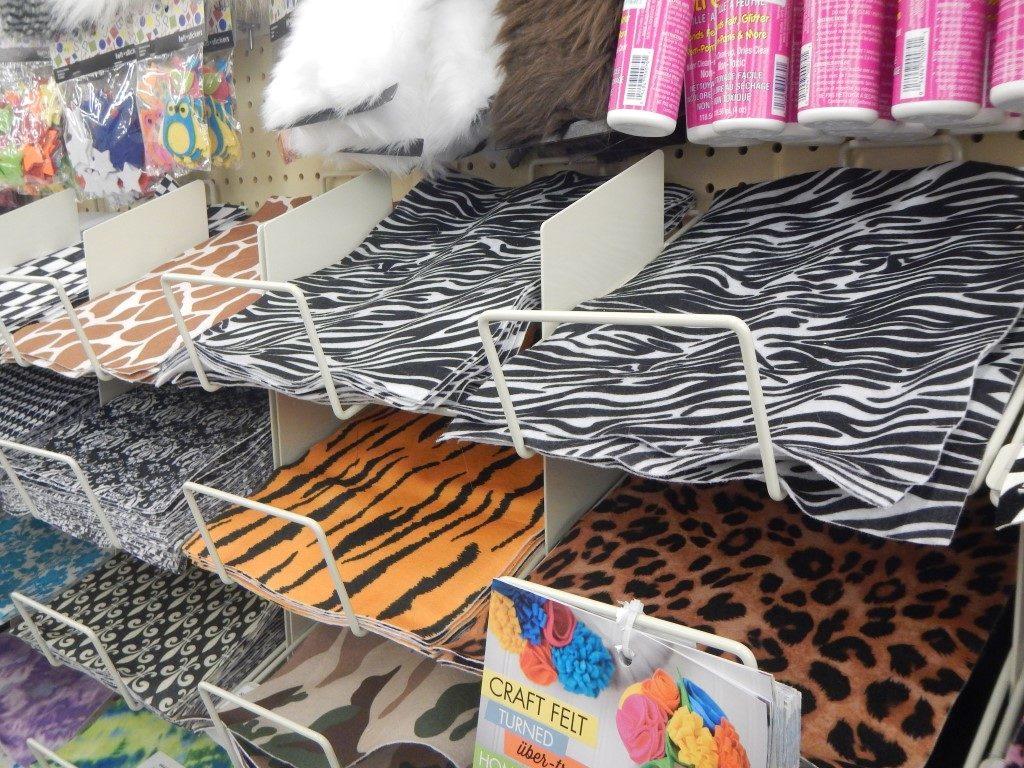 Animal Print Felt at Hobby Lobby