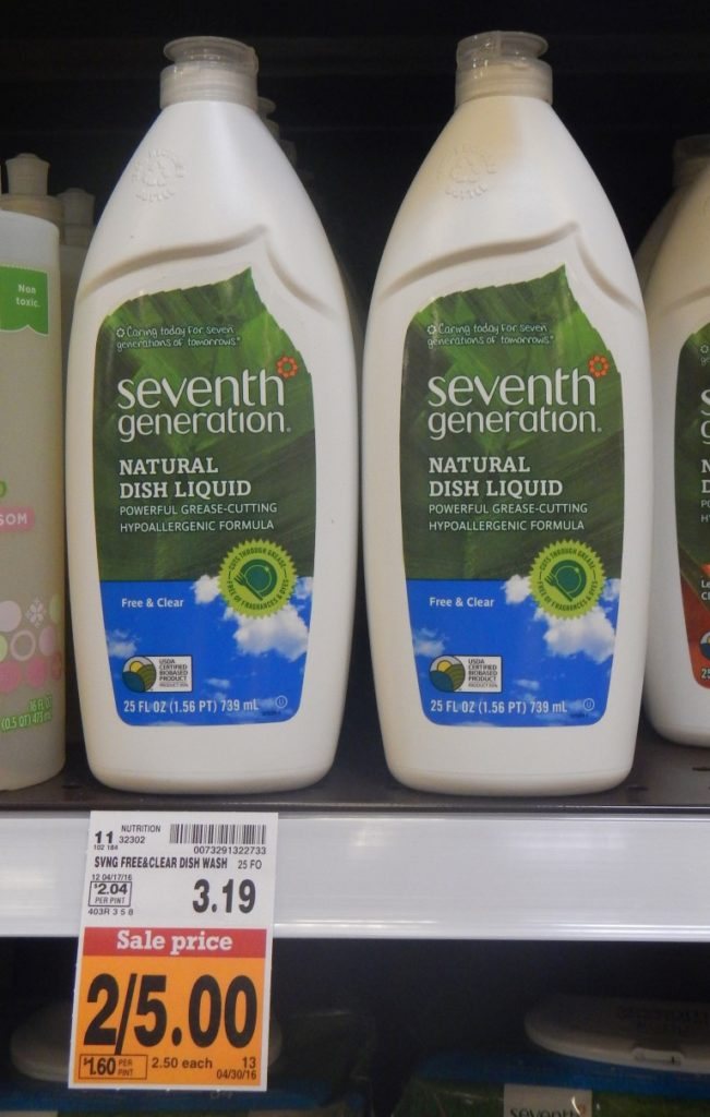 Seventh Generation Dish Soap