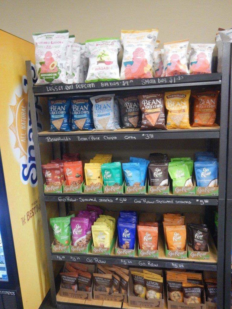 Store Shelves at Tacoma Fresh
