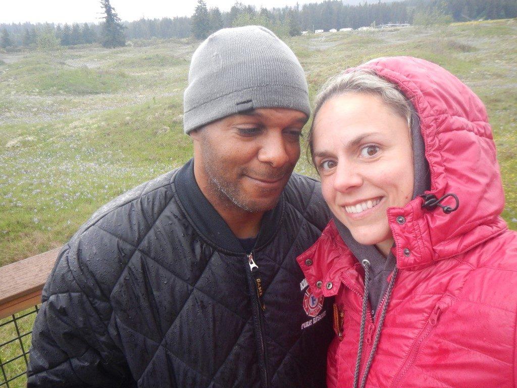 Selfies at Mima Mounds