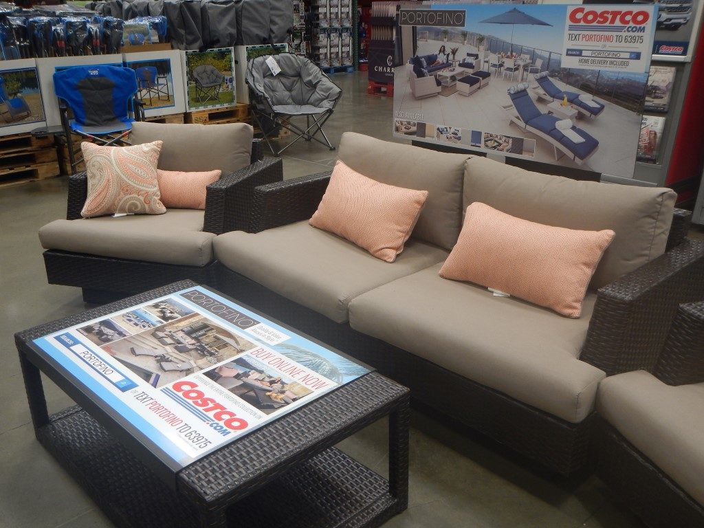 Patio Furniture at Costco