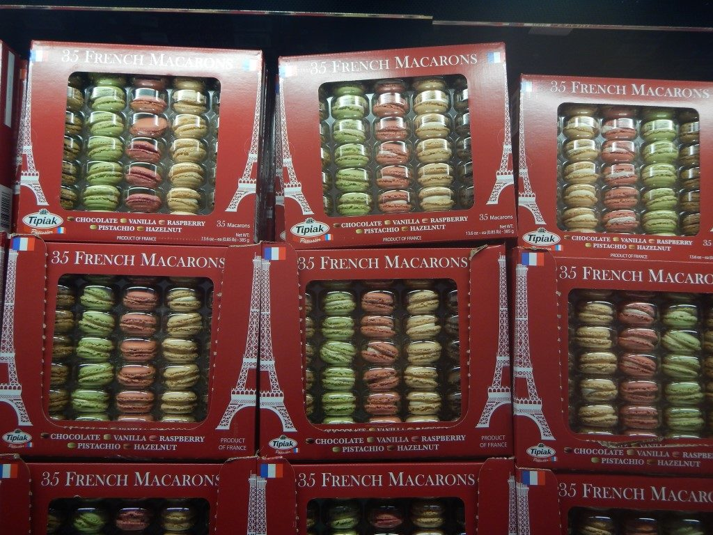 stuff i didn t know i needed until i went to costco 16 pretty maccaroons at costco