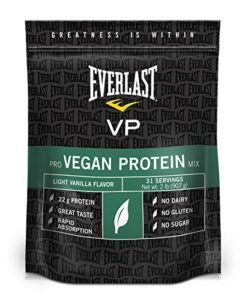 Everlast Vegan Protein, Vanilla, 2 Pound