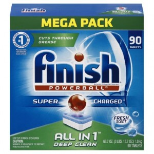 Finish 90-count Powerball Dishwasher Detergent Tablets, Fresh Scent (Packaging may vary)