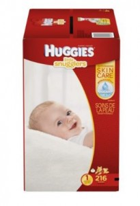 Huggies Little Snugglers Baby Diapers, Size 1, 216 Count (Packaging May Vary)