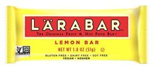 LÄRABAR Gluten Free Fruit & Nut Food Bar, Lemon Bar, 1.8 oz, 16 Count