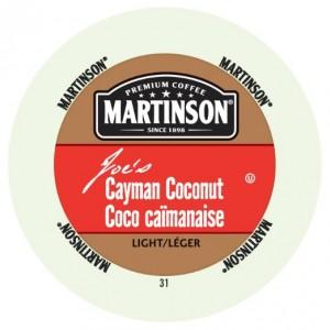 Martinson Coffee, Cayman Coconut, 24 Single Serve RealCups