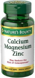 Nature's Bounty Calcium-Magnesiuim-Zinc, 100 Caplets