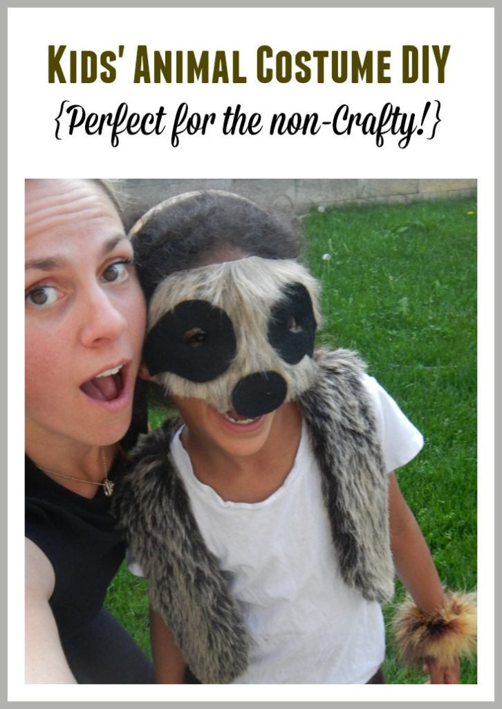 How to Make Kids' Animal Costumes - Particularly if you're NOT Crafty!