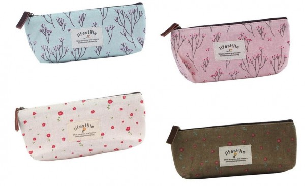 Adorable Canvas Bag Pencil Cases/Small Bags – 4 for $3.03   Free ...