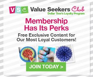 dollar tree value seekers club