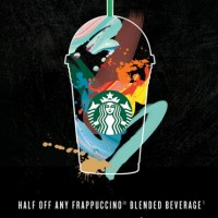 Starbucks: 50% off Frappuccinos through May 15th (3-5 p.m.)