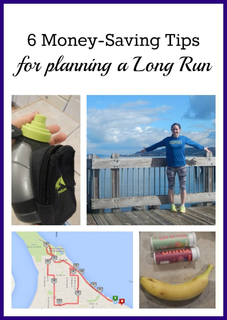 6 Money Saving Tips for Planning a Long Run - what to bring? what to eat?