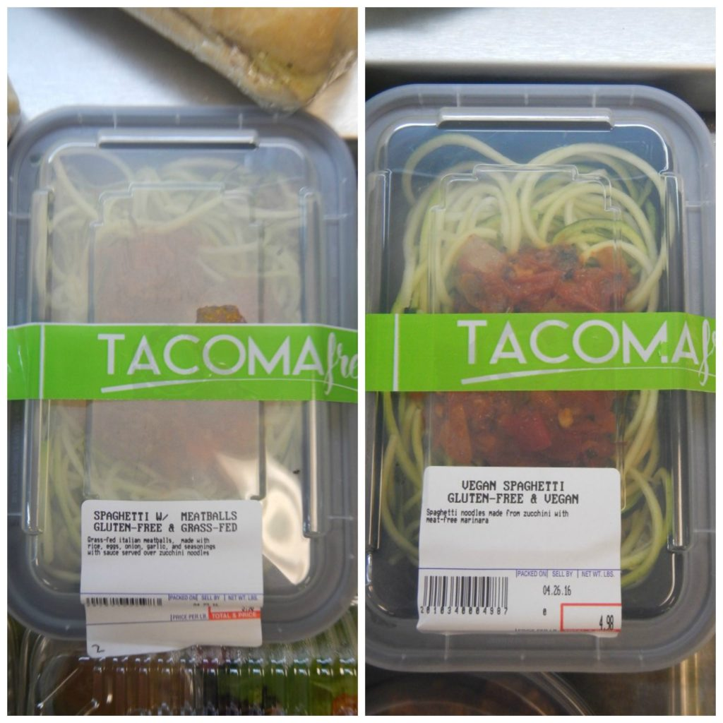 Specialty Diet Foods at Tacoma Fresh