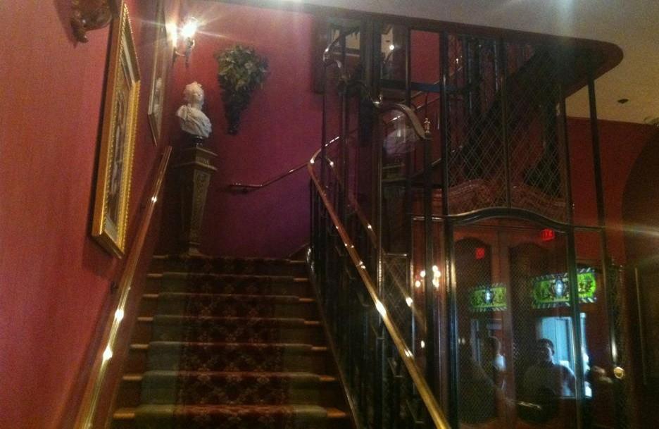 Club 33 Lobby