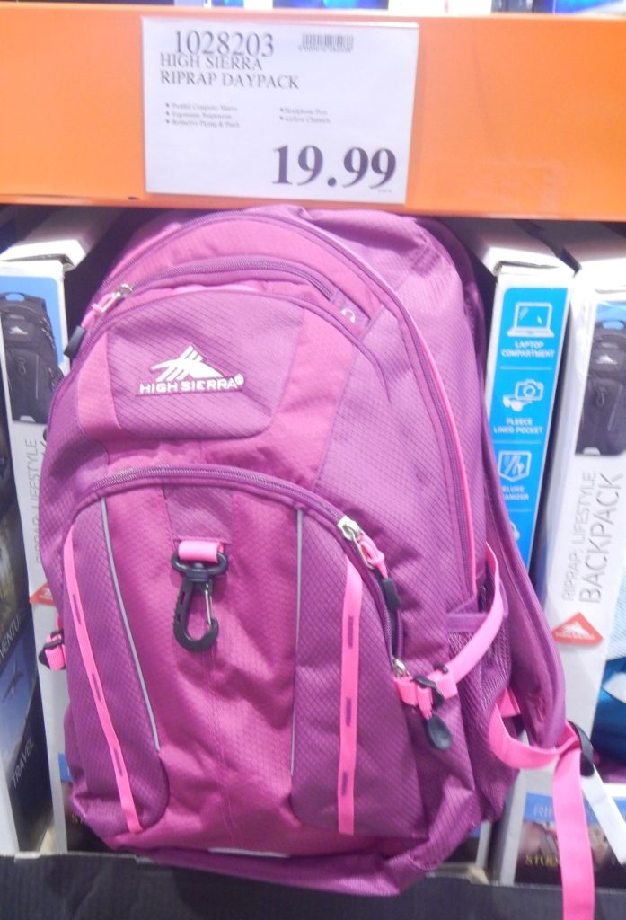 Daypack at Costco