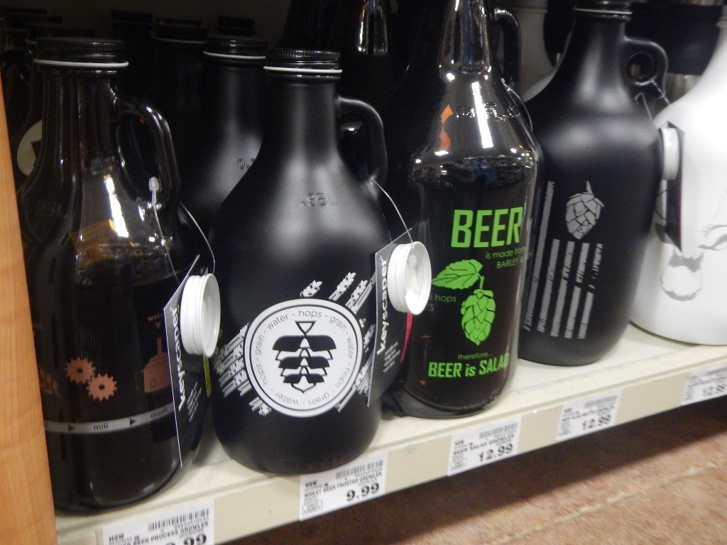 Growlers at Fred Meyer