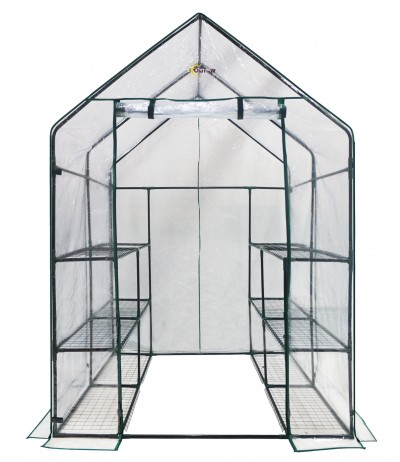 Deluxe+Walk-In+6+Tier+12+Shelf+Portable+Greenhouse