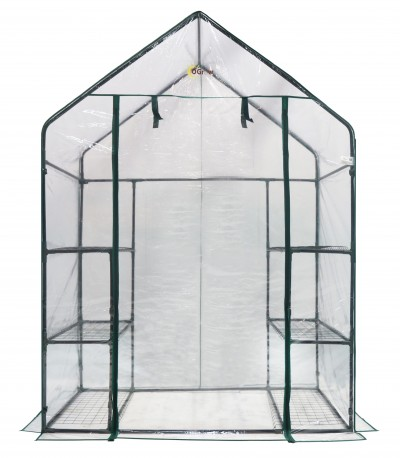 OGrow-Deluxe-Walk-In-3-Tier-67-H-x-48-W-x-29-D-Plastic-Greenhouse-OG6834-S