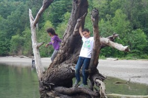 Visiting the Penrose Point State Park near Gig Harbor, Washington
