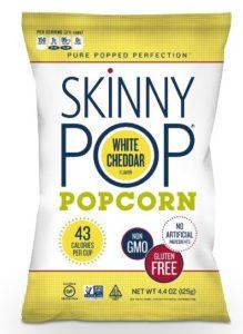 SkinnyPop Popcorn, White Cheddar, 4.4 Ounce