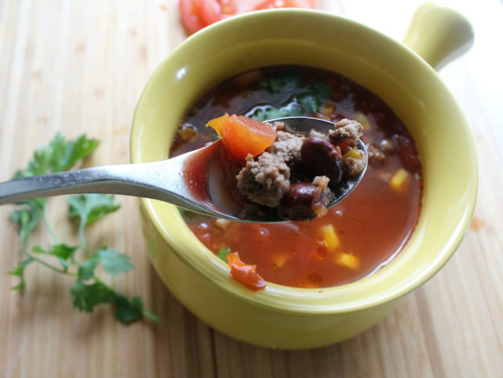 Taco Soup Recipe for the Slow Cooker - Delicious!