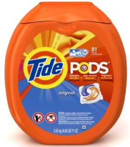 Tide PODS Original Scent HE Turbo Laundry Detergent Pacs 81-load Tub