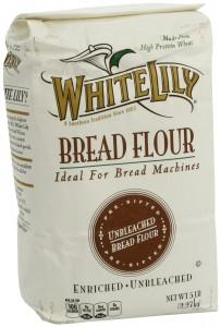 White Lily Unbleached Bread Flour, 5 Pound