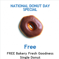 Fred Meyer Free Donut Coupon