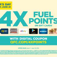 QFC 4X Fuel Points Digital Offer