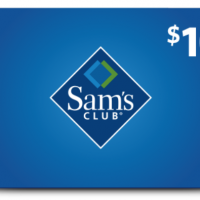 $10 Sam's Club Membership Card