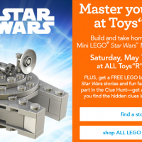 Star Wars Event at Toys R Us