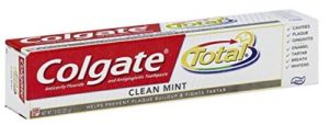 Colgate Total Clean Mint Toothpaste, 7.8 Ounce (Pack of 6)