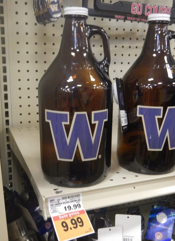 UW Growler at Fred Meyer