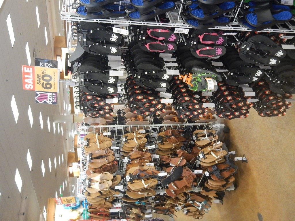 my fred meyer flash sale shopping trip 60 off sandals