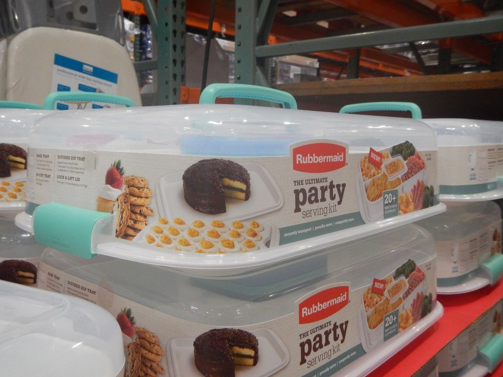 Rubbermaid Ultimate Party Serving Kit at Costco