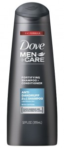 Dove Men+Care 2 in 1 Shampoo and Conditioner, Anti Dandruff, 12 oz