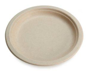 Earth's Natural Alternative Wheat Straw Fiber, Bagasse (Sugarcane) Tree Free 10 Plate, 20 Pack