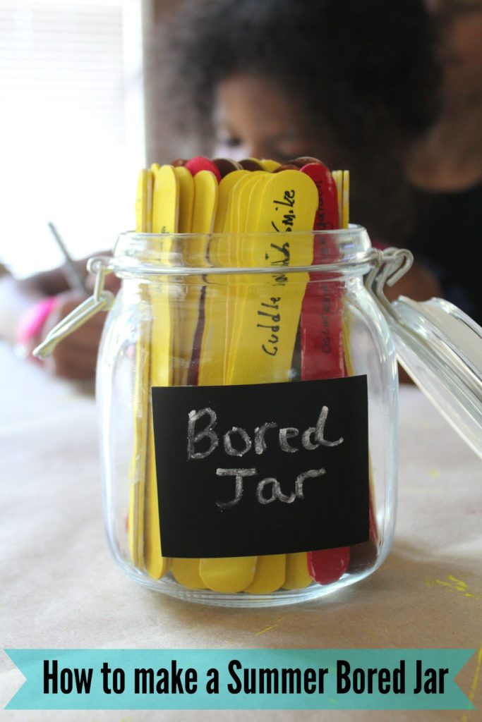 Summer Bored Jar