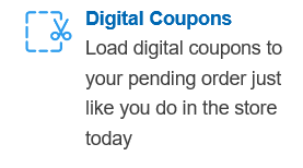 Using Digital Coupons for ClickList