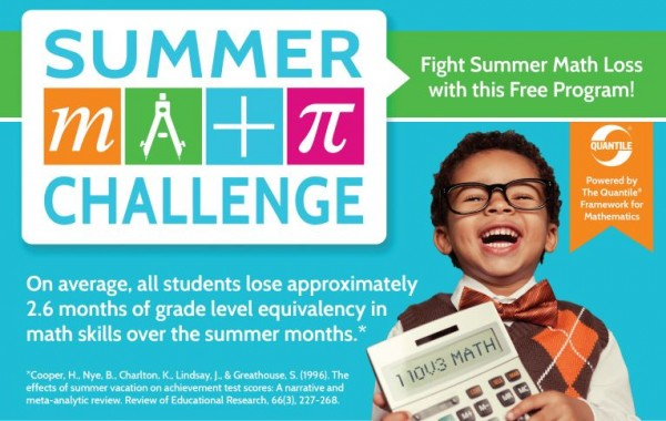 quantiles free summer math challenge