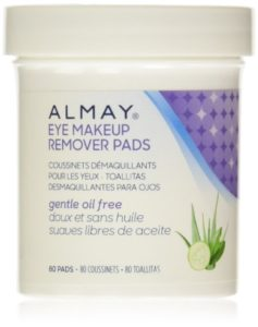 Almay Oil-Free Gentle Eye Makeup Remover Pads, 80 ct