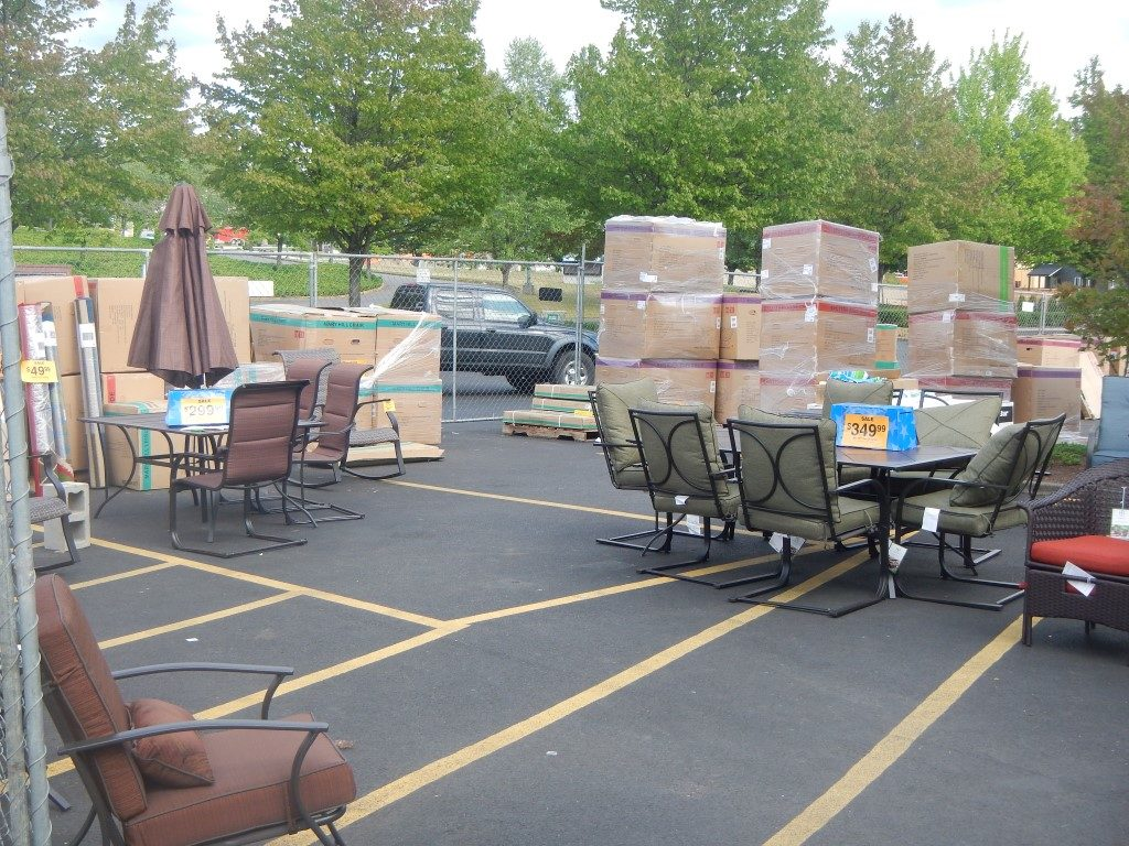 My Trip To Fred Meyer's Sidewalk Sale: Patio Furniture