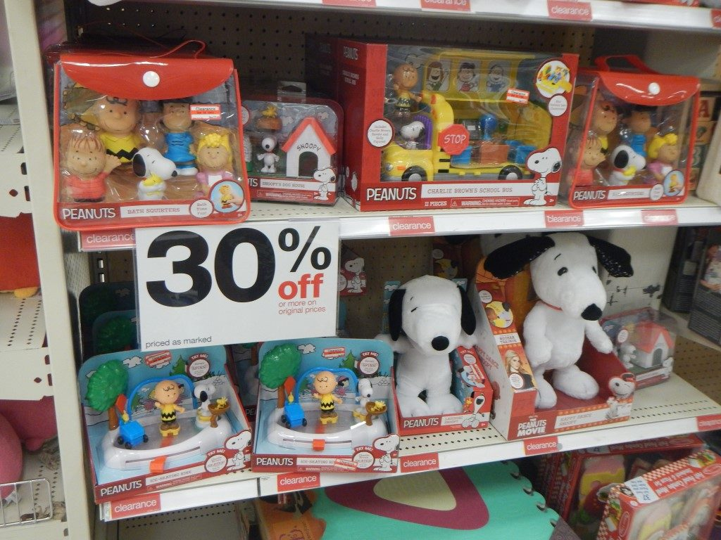 Target Toy Clearance - 30% off
