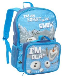 Disney Frozen I'm Olaf Backpack with Lunchbox