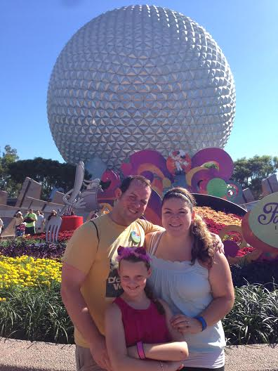 Epcot with Family
