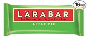 Larabar Gluten Free Fruit & Nut Food Bar, Apple Pie, 1.6 oz, 16 Count